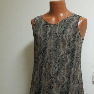 Mini Ladies  dress silk